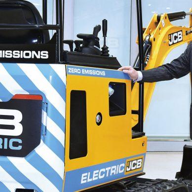 JCB se suma a la revolución de las baterías con su primera excavadora eléctrica de cero emisiones