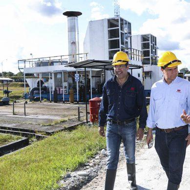 Ministro Ísmodes le da un vistazo al Oleoducto Norperuano