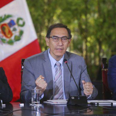 Administración Vizcarra priorizará  inversiones en cinco rubros