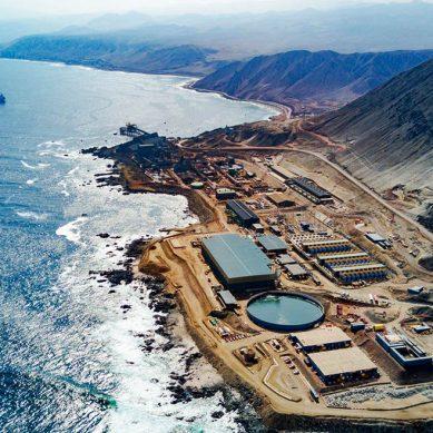 Consumo de agua de mar subirá 156% al 2030 en principal competidor minero de Perú