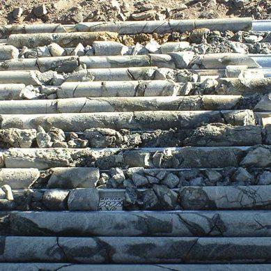 Volcan repotenció trabajos de perforación diamantina: acumuló 263,000 metros en 2018