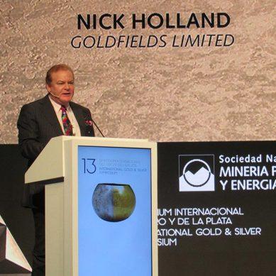 CEO de Gold Fields: Las menores leyes de oro en el mundo abren la oportunidad a las exploraciones auríferas en Perú