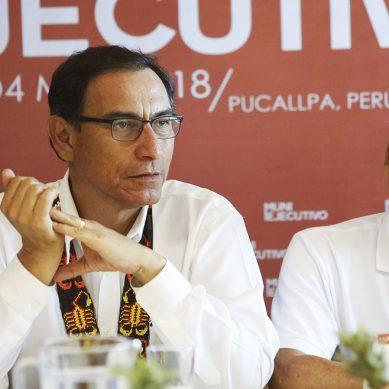 Presidente Vizcarra afirma que su Gobierno respalda el desarrollo de proyectos mineros