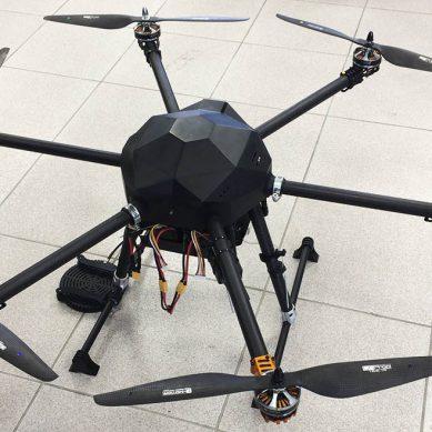 El vigilante de la calidad del aire, una creación de qAIRa Drones