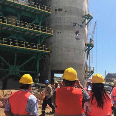 Autoridades constatan avances en construcción de nueva Refinería Talara