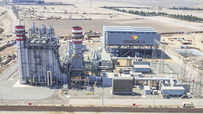 Termochilca confía en que mantenimiento programado de Camisea no afectará su producción de energía