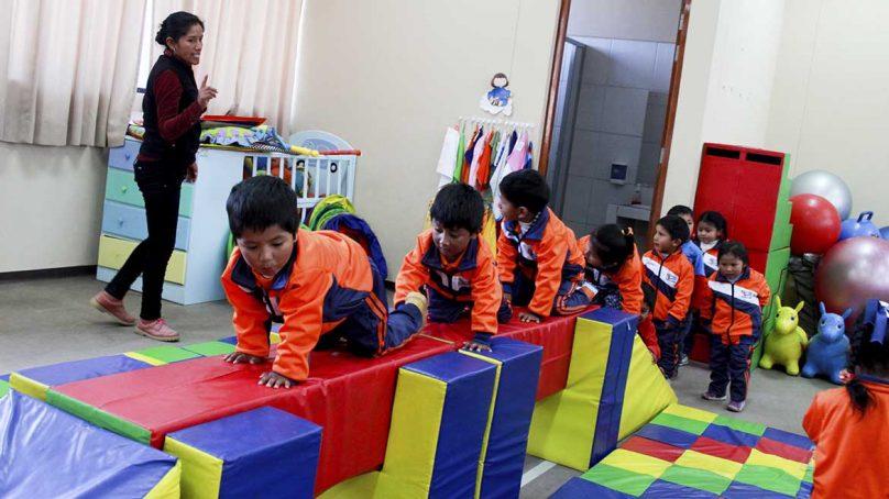 Centro de estimulación temprana de Antapaccay, en Espinar, fortalece habilidades de 200 niños