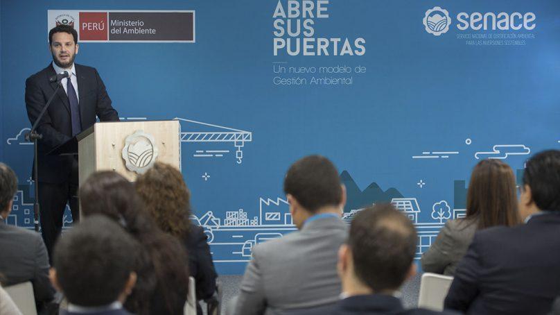 """""""Al bicentenario, el Senace será el único organismo que evalúe los EIA de los grandes proyectos del país"""""""