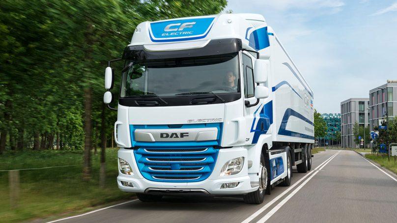 Holandesa DAF pondrá a prueba su primer camión eléctrico