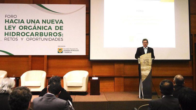 Minem, Perupetro y SNMPE piden que Congreso apruebe, de una vez, nueva Ley Orgánica de Hidrocarburos
