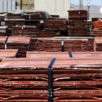 SNMPE: Cobre encabezó exportaciones peruanas entre enero y agosto