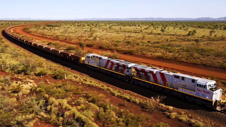 El robot más grande del mundo es un tren y le pertenece a la gigante minera Rio Tinto
