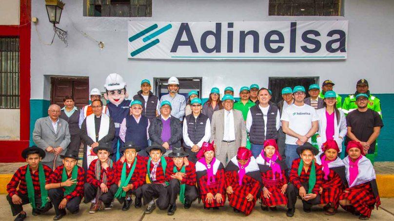 Adinelsa inaugura renovado centro de atención al cliente en Yauyos