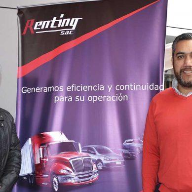 La propuesta de Renting: Arrendamiento de vehículos con un soporte de alta eficiencia