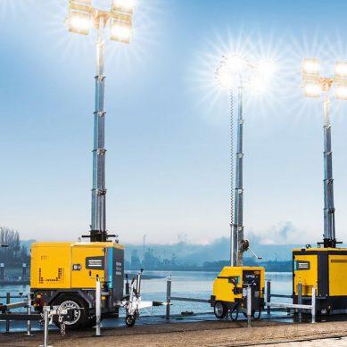 La iluminación sustentable de Atlas Copco para construcción y minería