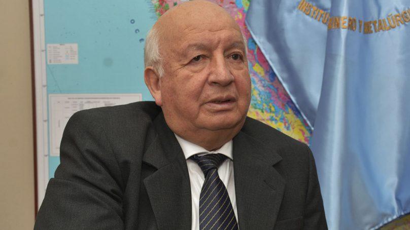 Fallece Oscar Bernuy, presidente del consejo directivo del Ingemmet