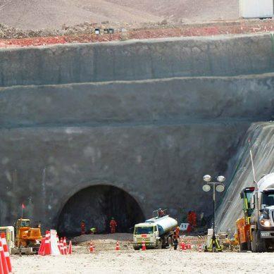 Túnel de Chuquicamata Subterránea tiene construidos 123 km de los 140 km requeridos