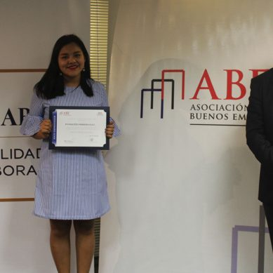 """ABE certifica como """"socio emprendedor"""" a Fundición Ferrosa por sus buenas prácticas corporativas"""