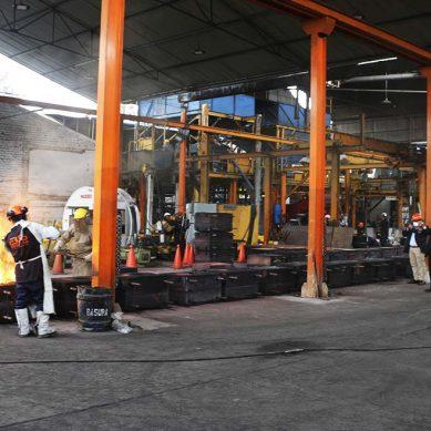 Mineras y proveedores del sector extractivo visitan planta de Fundición Ferrosa