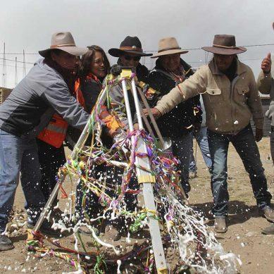Con inversión de S/5,5 millones, comunidad de Chilloroya y Hudbay Perú inician construcción de palacio municipal