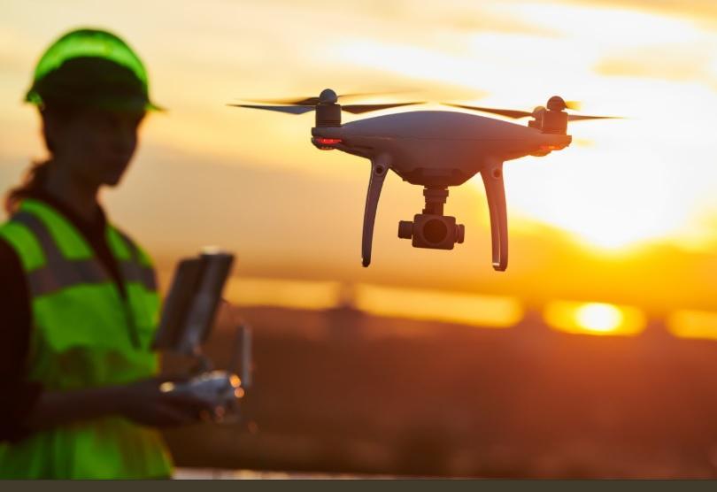 Isa Rep inspecciona líneas de transmisión de alta tensión con drones pero…
