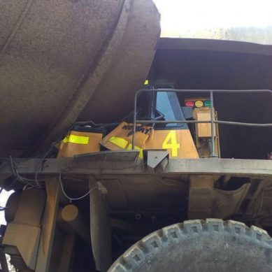 Accidente entre dos camiones mineros habría acontecido en Lagunas Norte, de Barrick