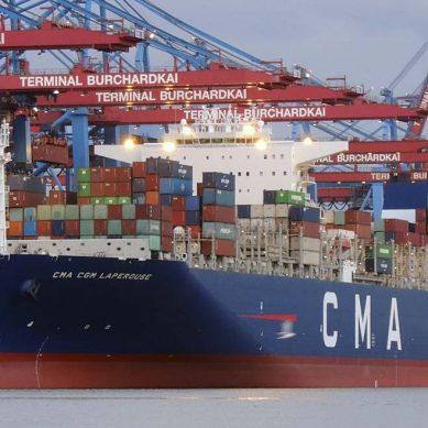 Naviera francesa CMA-CGM recibirá los primeros megaportacontenedores a GNL en 2019