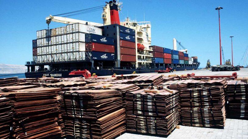 Precio del cobre vuelve a caer, pese a ello logró  un aumento de 1% esta semana