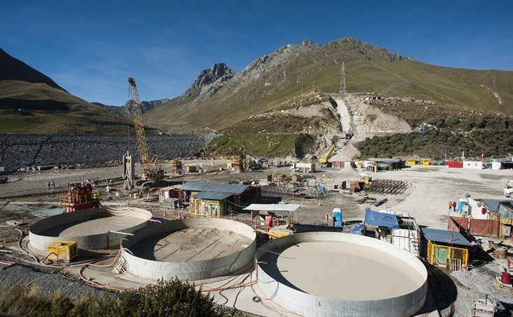 Soletanche Bachy Perú y la construcción del muro de concreto plástico en Antamina