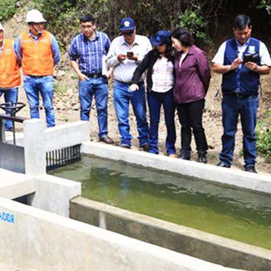 Antamina, a través de Obras por Impuestos, mejoró canal de riego en Huayllapampa