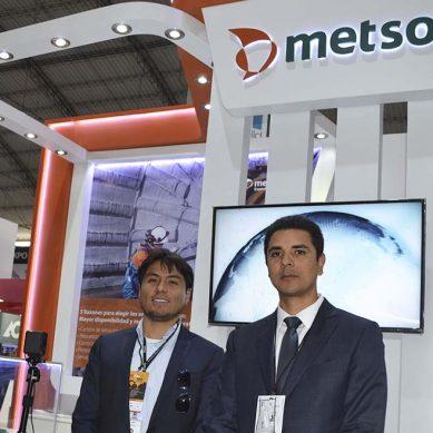 Metso mostró las ventajas de su revestimiento Megaliner™ en Expomina 2018