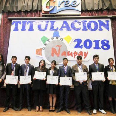 31 jóvenes de Espinar se gradúan en centro de educación superior financiado por minera Antapaccay