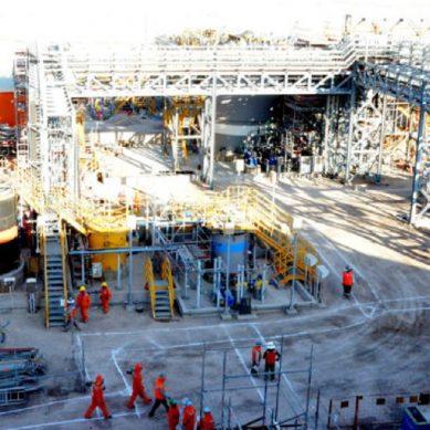 Mina chilena Centinela inauguró su planta de molibdeno