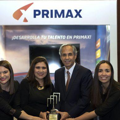 """Premios ABE: Primax cuenta con el """"mejor programa de inducción"""""""
