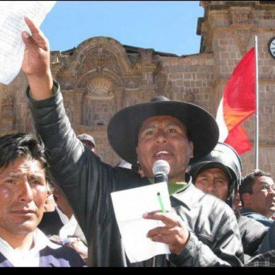 Walter Aduviri el líder aimara que prefiere no enfrentarse a la minería informal