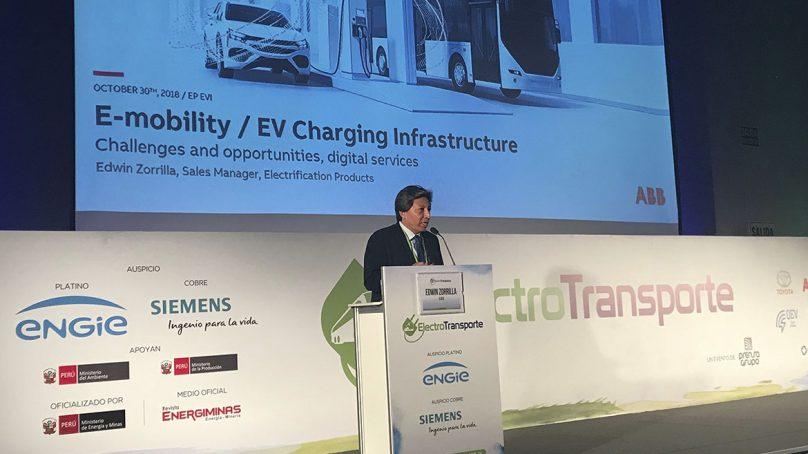 ABB: Ya existe la tecnología para recargar vehículos eléctricos en cinco minutos