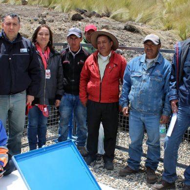 Barrick Gold Corp. instala sistema de agua potable para 52 familias de Las Achiras, en La Libertad