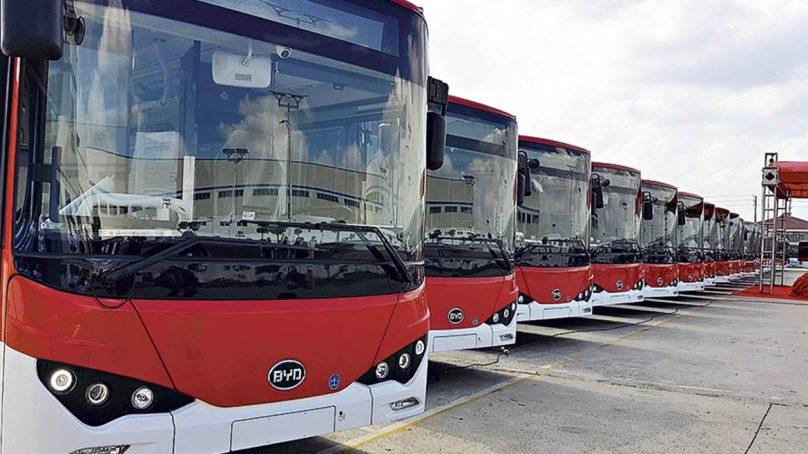 Un gran salto cuántico: Chile contará con 100 buses eléctricos desde noviembre