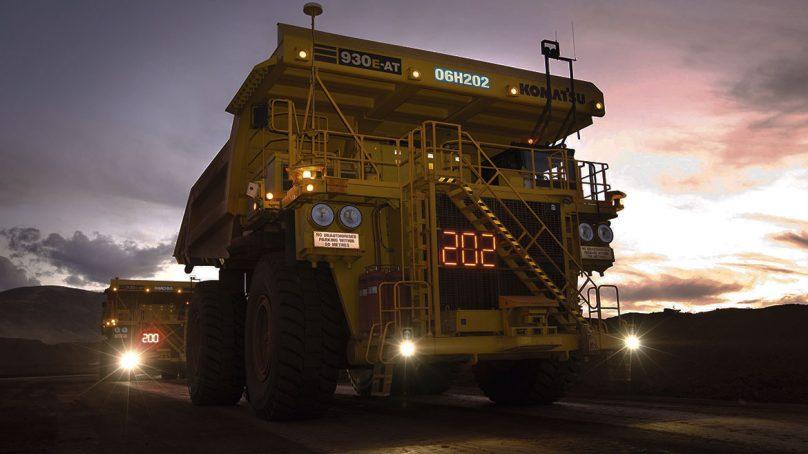 Compañía Minera Antamina instalará sistemas antifatiga GuardVant en sus 120 camiones mineros