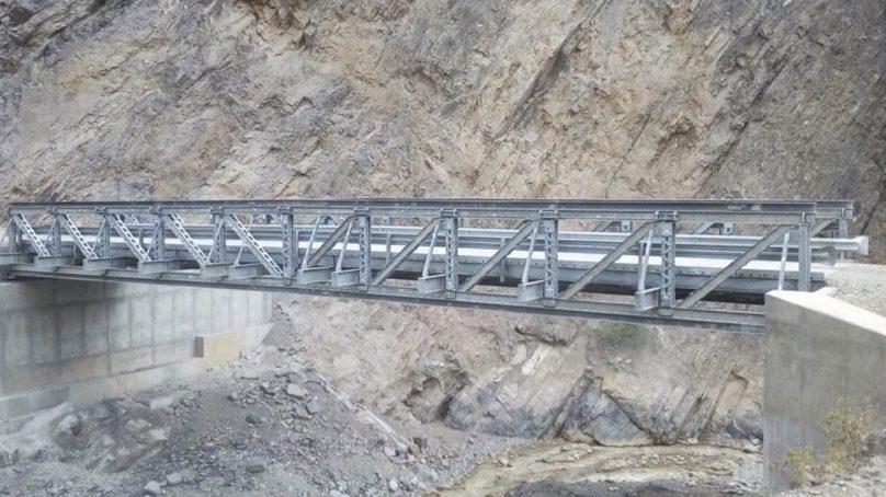 Peruana Esmetal entregará 22 puentes modulares antes de la fecha pactada con el MTC