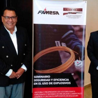 Peruana Famesa Explosivos inicia capacitaciones en el extranjero