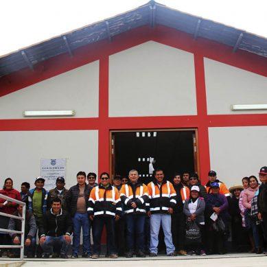 Gold Fields invierte más de un millón de soles en casa comunal para comunidad de El Tingo