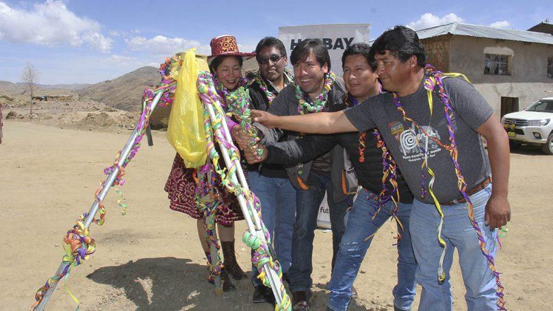 Minera Hudbay invierte S/948,629 para construcción de trochas carrozables en distrito de Chamaca