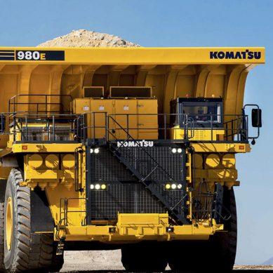 En 2019, Komatsu espera colocar más de 15 camiones eléctricos 980E-4 en minas peruanas