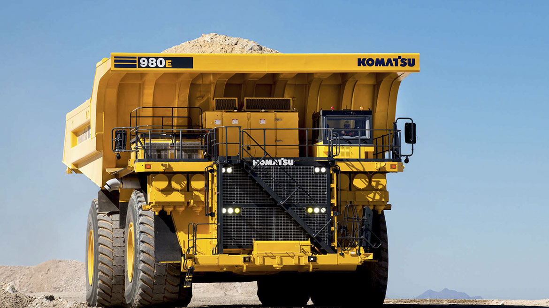 Minera Sierra Gorda adquirió plataforma digital de Komatsu para 58 camiones mineros