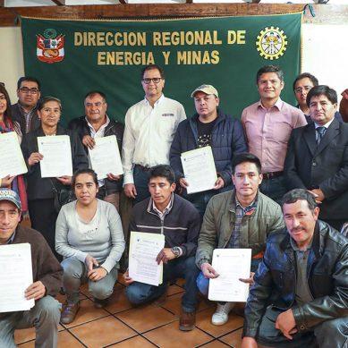 MEM inicia proceso de formalización minera en Cajamarca