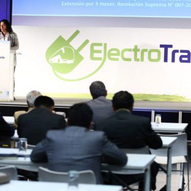 Minam: Perú planea adoptar la electromovilidad con mototaxis eléctricos