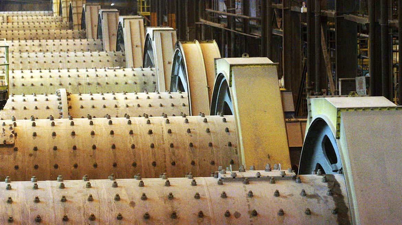 Se contrae producción de maquinaria para minería en 10,1% a octubre de 2018