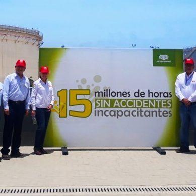 Modernización de Refinería de Talara acumula 15 millones de horas hombre sin accidentes incapacitantes