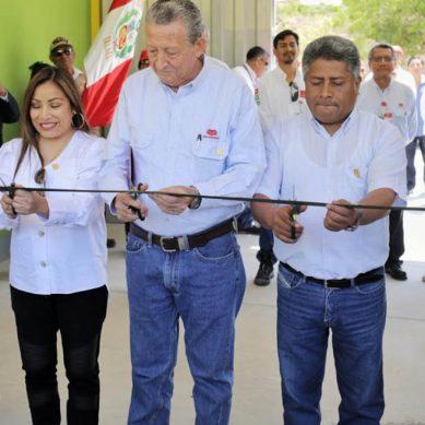 Petroperú entrega nuevo local a colegio Villarreal, en Talara